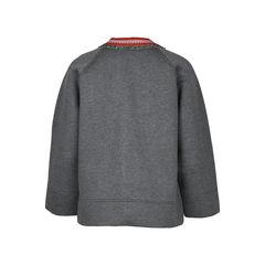 Gucci embellished neoprene sweater 2?1516075304