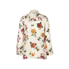 Gucci rose print chiffon shirt 2?1516078842