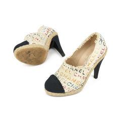 Chanel cap toe fringe espadrille ankle boots 2?1516084993