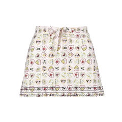 Valentine Hearts Beach Skirt