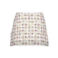 Chanel hearts printed skirt 2?1516169538