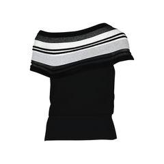 Roland mouret knitted wool blend off the shoulder top 2?1516174208