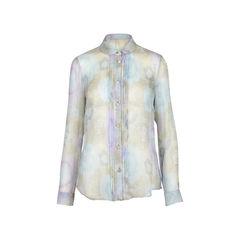 Printed Silk Chiffon Blouse