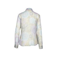 Red valentino light silk chiffon blouse 2?1516174392