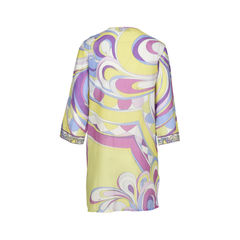 Emilio pucci vibrant v neckline mini dress 1?1516178903