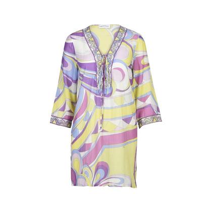 Authentic Second Hand Emilio Pucci Lace-Up Mini Dress (PSS-200-00728)