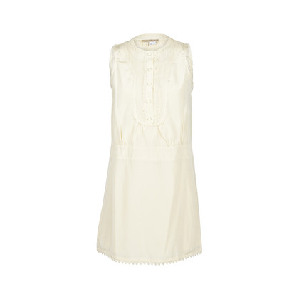 Authentic Second Hand See by Chloe Lace Trim Sleeveless Dress (PSS-047-00183)