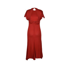St gillian by kay unger red jersey maxi dress 2?1516259527