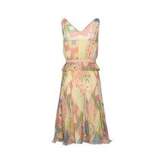 Moschino silk floral printed dress 2?1516259556