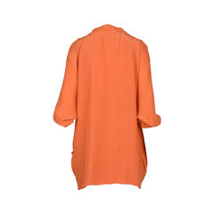 Max co orange shift dress with drawstring 2?1516259591