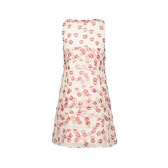 Dkny lipstick printed dress 2?1516259644