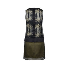 Pedro lourenco silk printed sleeveless dress 2?1516262338