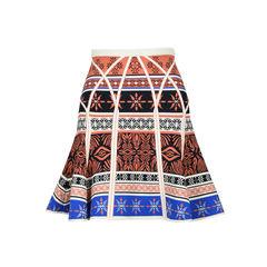 Samara Desert Bands Printed  Skirt