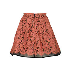 Msgm floral lace skirt 2?1516592906
