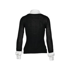 Moschino ruffle shirt sweater 2?1516595362