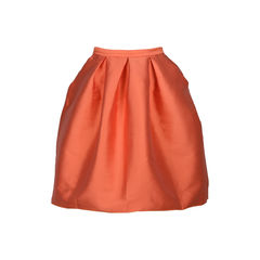 Olivia Satin-Twill Skirt