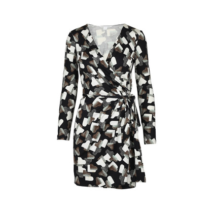 Authentic Second Hand Diane Von Furstenberg Callista Wrap Dress (PSS-420-00030)