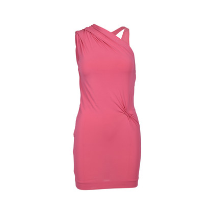 Authentic Second Hand CK Calvin Klein Pink Toga Dress (PSS-228-00020)