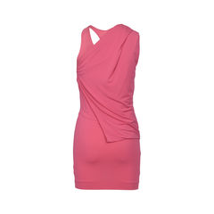 Ck calvin klein pink toga dress 2?1516601954