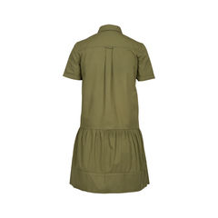 Athe by vanessa bruno khaki shirt dress 2?1516690830