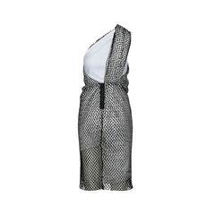 Dion lee one shoulder draped net dress 2?1516693748