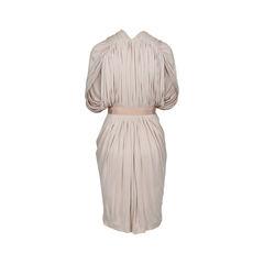 Vionnet draped fine knit jersey dress 2?1516693928