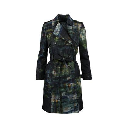 Erdem Kaija Printed Trench Coat