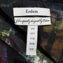 Authentic Pre Owned Erdem Kaija Printed Trench Coat (PSS-080-00202) - Thumbnail 2