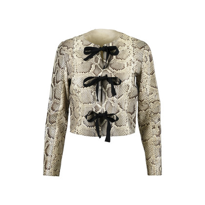 Authentic Pre Owned Prada Python Jacket (PSS-080-00204)