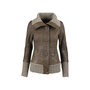 Authentic Second Hand Mackage Ribbed Trim Leather Jacket (PSS-080-00210) - Thumbnail 0
