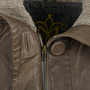 Authentic Second Hand Mackage Ribbed Trim Leather Jacket (PSS-080-00210) - Thumbnail 3