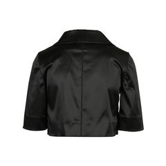 Dolce gabbana cropped satin jacket 2?1516853042