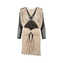 Mesh Draped Dress