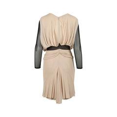 Julien macdonald mesh draped dress 2?1516853413