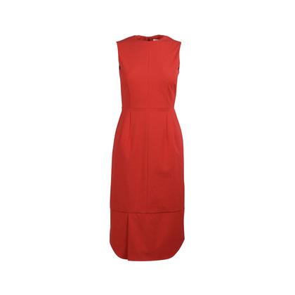 Authentic Second Hand Jil Sander Sheath Midi Dress (PSS-054-00185)