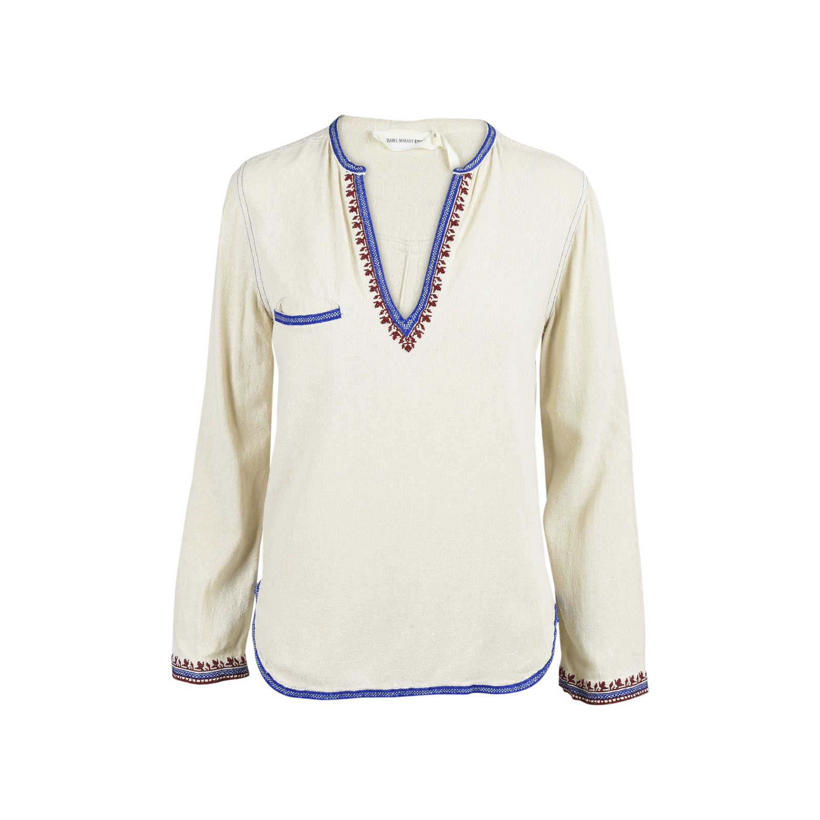 0c8bd87c178 Authentic Second Hand Isabel Marant Étoile Embroidered Tunic Top  (PSS-054-00198) ...