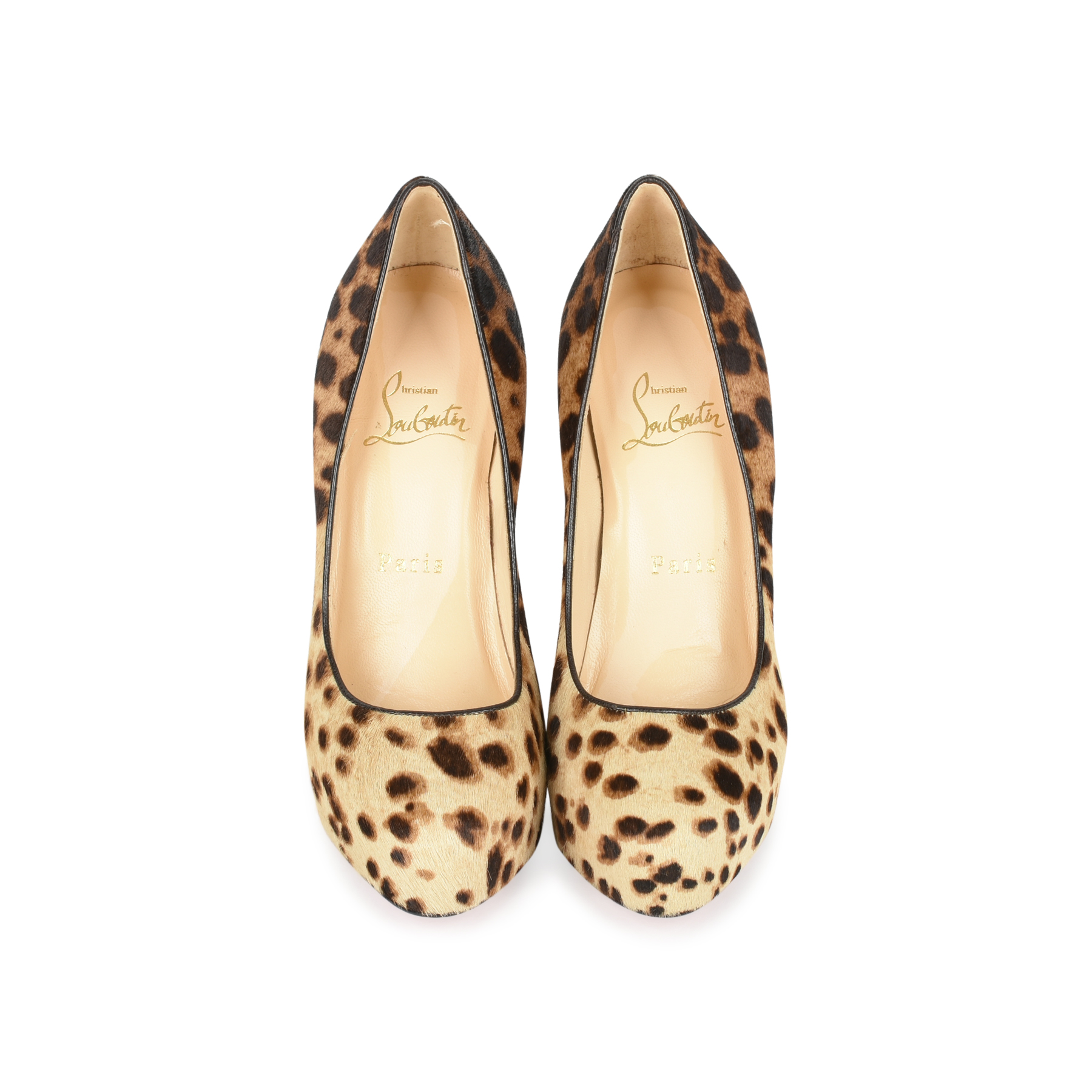 e1143ef37e Authentic Second Hand Christian Louboutin Calf Hair Leopard Print Pumps  (PSS-080-00240) - THE FIFTH COLLECTION