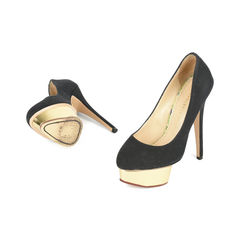 Charlotte olympia dolly signature island platform pumps 2?1517201744