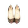 Authentic Second Hand Christian Louboutin Mini Bout Peep-Toe Pumps (PSS-080-00241) - Thumbnail 0