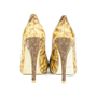 Authentic Second Hand Kathryn Amberleigh Snakeskin Pumps (PSS-080-00262) - Thumbnail 2