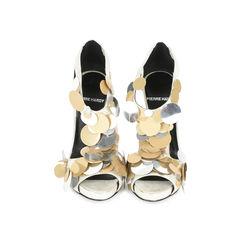 Pailette T-strap Sandals