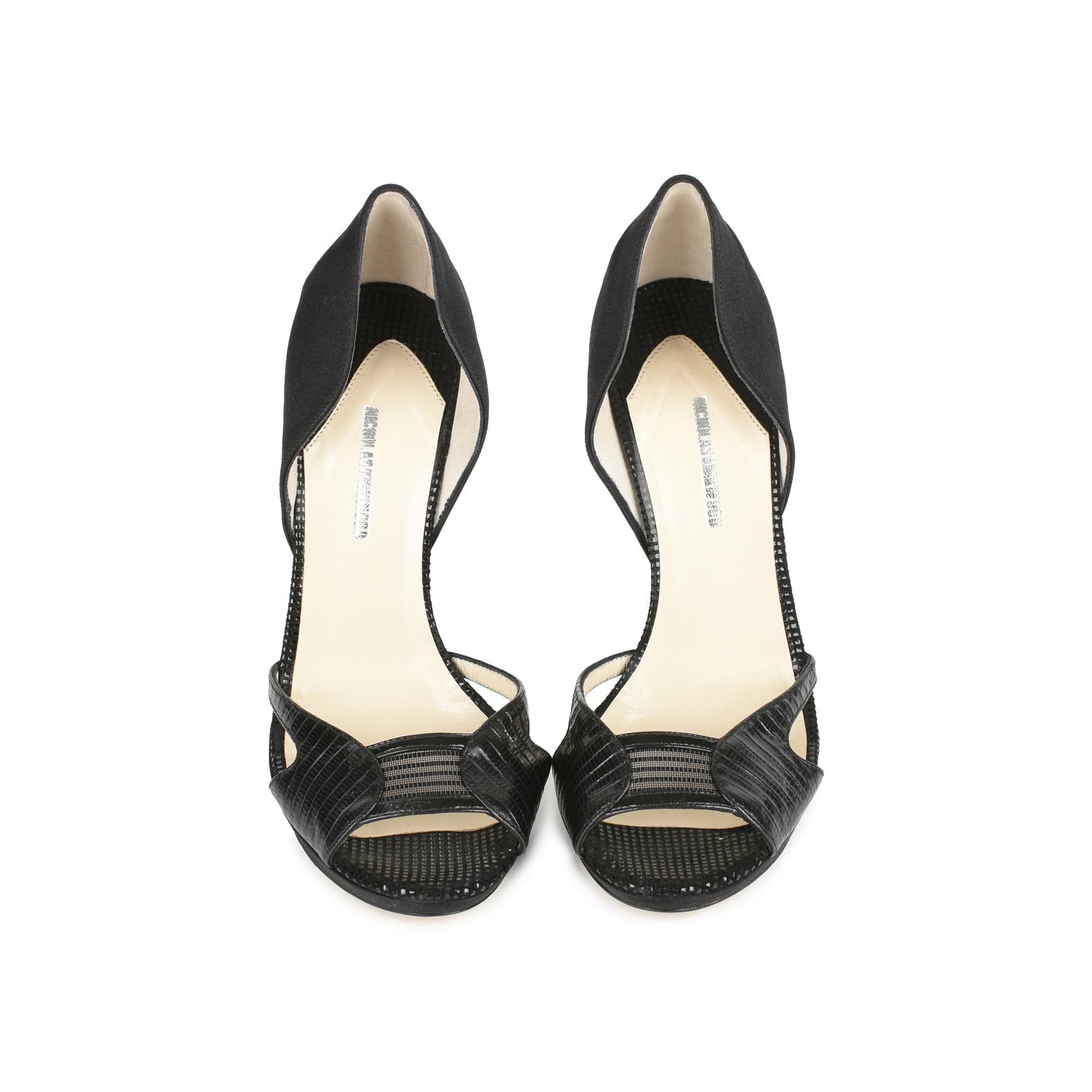 6a4e93c5196 Authentic Second Hand Nicholas Kirkwood Glitter Heel D Orsay Pumps  (PSS-080-00271)