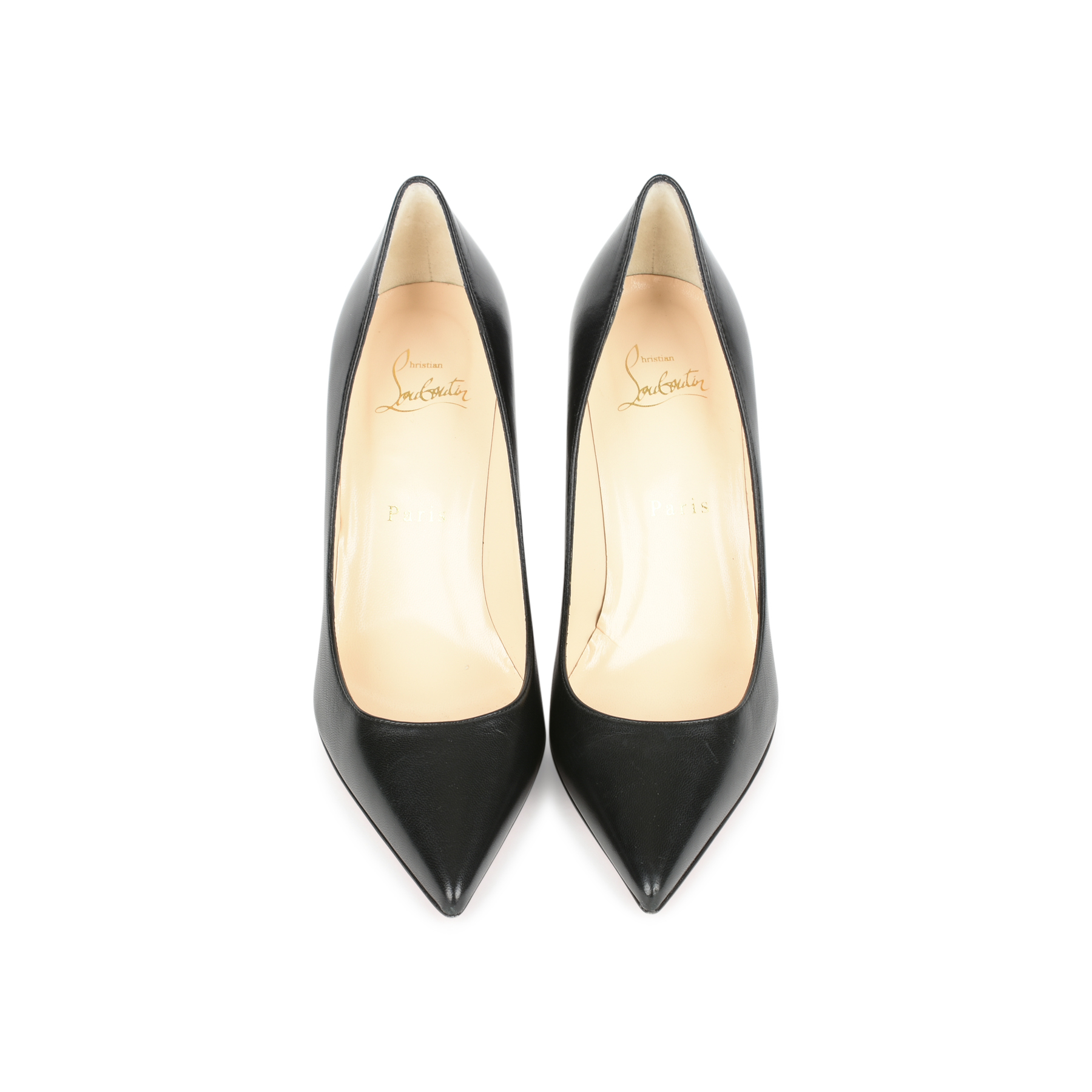 05997f967c37 Authentic Second Hand Christian Louboutin Pigalle 85 Pumps (PSS-054-00172)