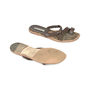 Authentic Second Hand Manolo Blahnik Leather Slide Sandals (PSS-054-00202) - Thumbnail 2