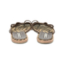 Authentic Second Hand Manolo Blahnik Leather Slide Sandals (PSS-054-00202) - Thumbnail 4