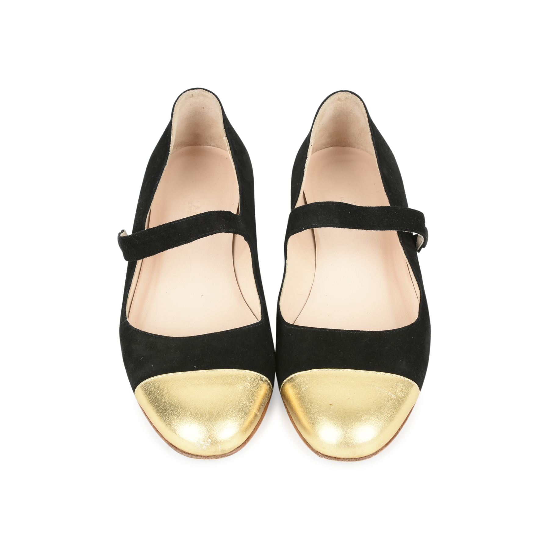 Authentic Second Hand A.P.C Mary-Jane Flats (PSS-054-00204)
