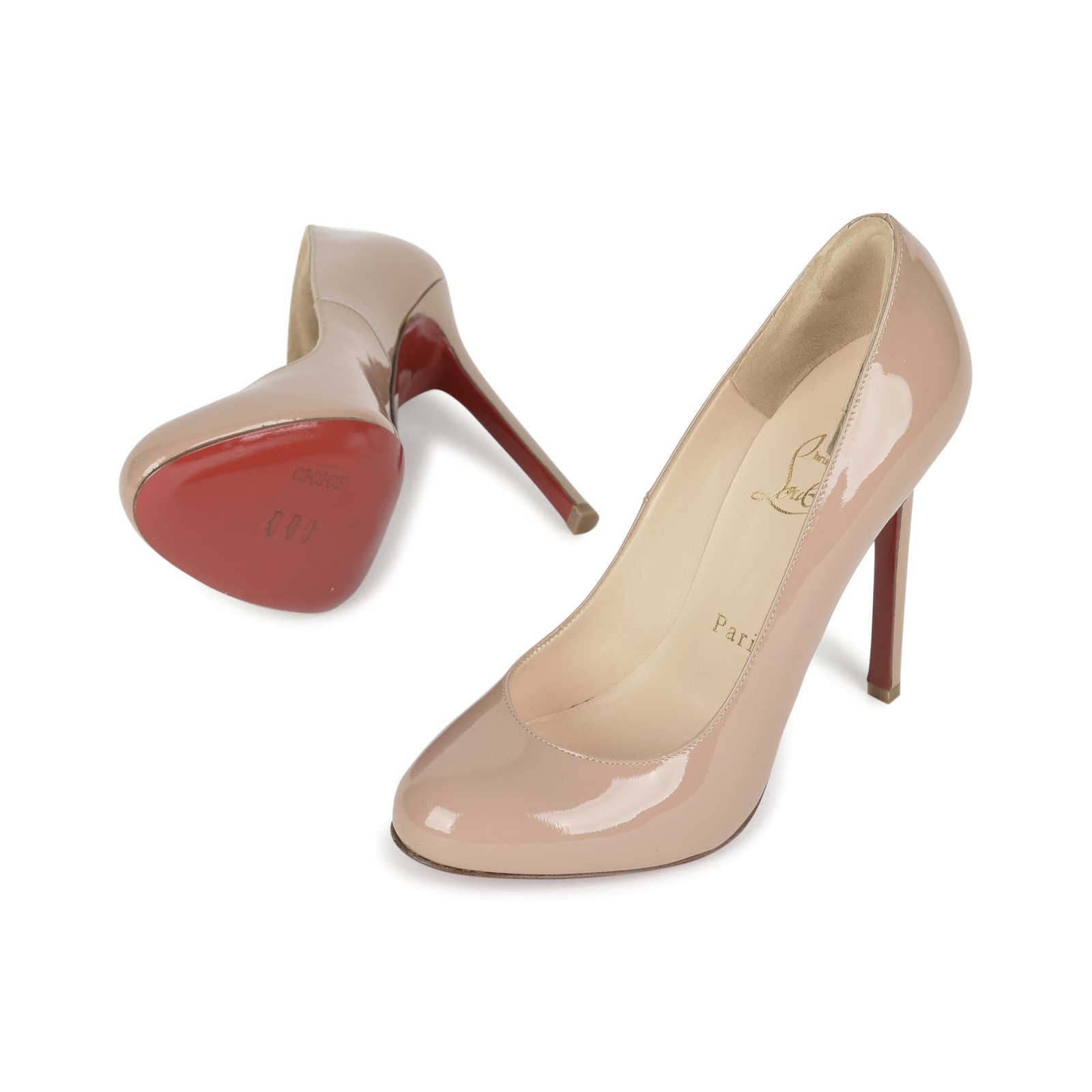 33797a24a9f5 ... Authentic Second Hand Christian Louboutin Fifi 120 Pumps  (PSS-080-00237) ...