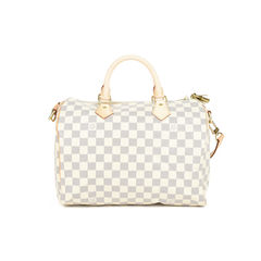 Louis vuitton damier azur speedy 30 2?1517218716