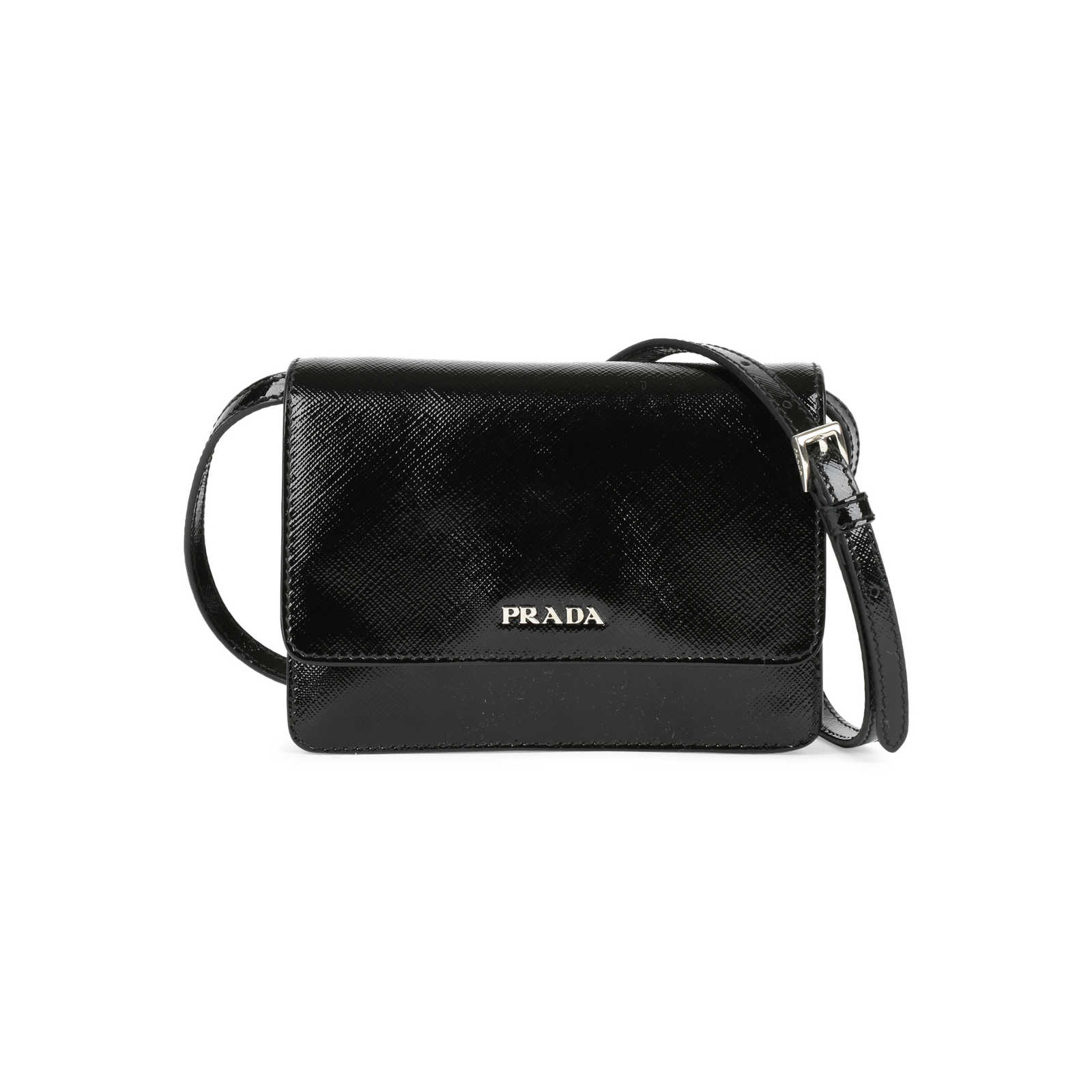 415cfd42026d ... coupon code for authentic pre owned prada saffiano lux mini crossbody  bag pss 446 00002 43429