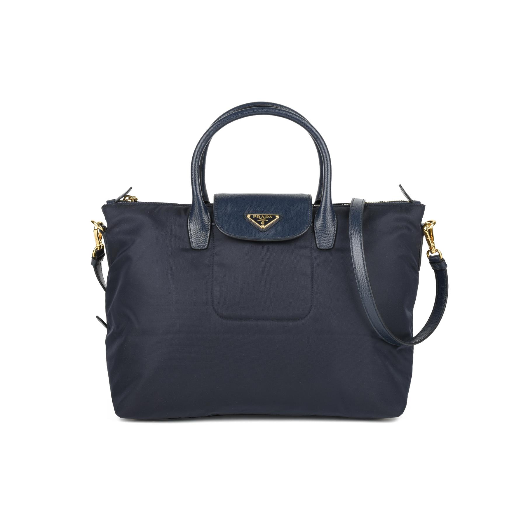 705787e135 Authentic Second Hand Prada Tessuto Saffiano Tote Bag (PSS-446-00005) - THE  FIFTH COLLECTION